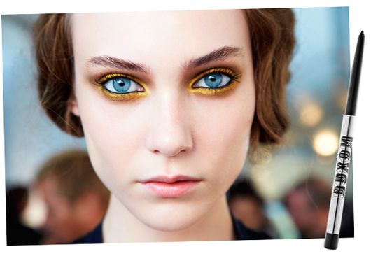 gold eye makeup  LOVE