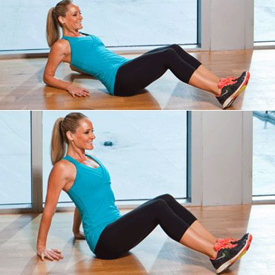 Shape Magazine: 10 simple moves to target stubborn areas