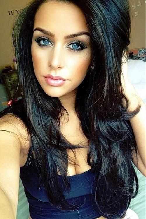 love the dark hair