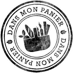 panier vintage hipster logo