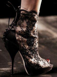 Delirium high heel fashion shoes
