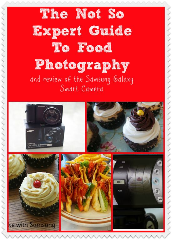 My bloggy foodie friends dish about photography and I dish about the Samsung Galaxy Smart phone!