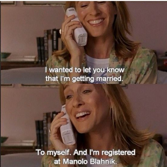 one of my favorite satc episodes. ?