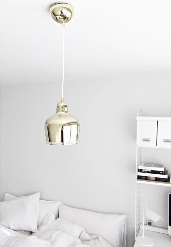 Alvar Aalto pendant lamp.