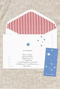 Australia Day Party Invitations