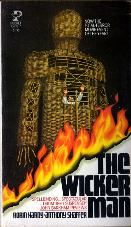 The Wicker Man paperback book cover