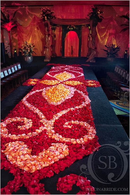 Wedding Ceremony Decoration Ideas, Wedding Aisle Designs  #indianwedding #shaadibazaar