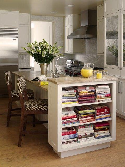 Bookshelves for Your Kitchen