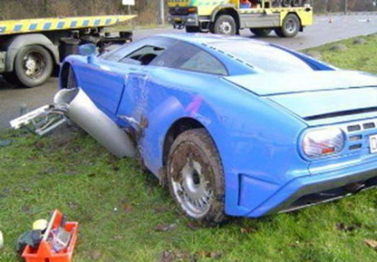 Most Expensive Car Wrecks