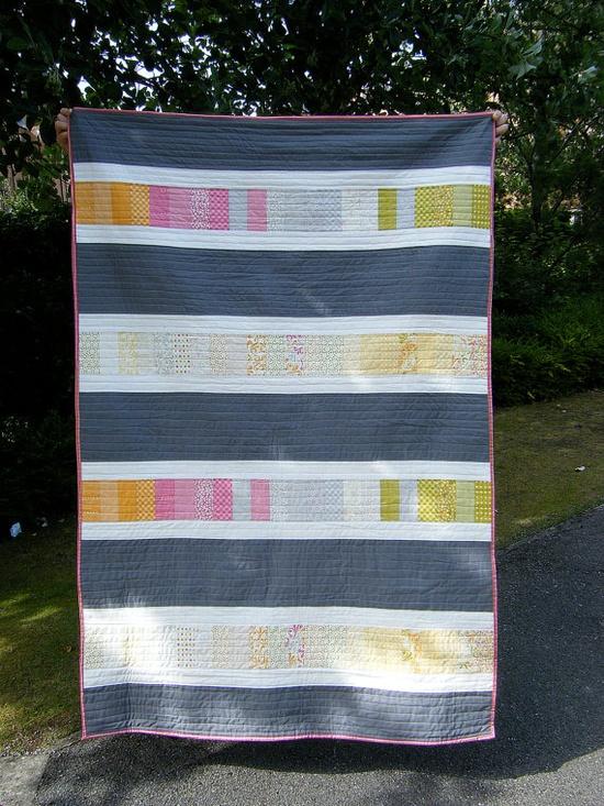 I love a modern quilt!
