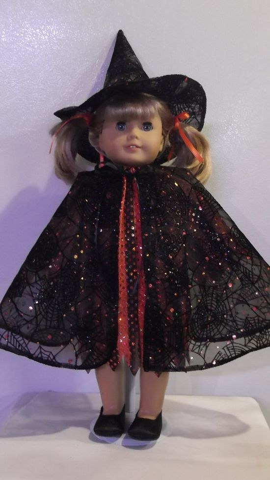 American Girl Doll Clothes  Witch Costume by susiestitchit on Etsy, $20.00