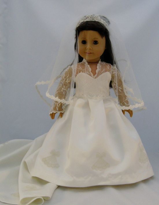 Kate Middleton's Wedding Gown Reproduced and by enchanteddesigner