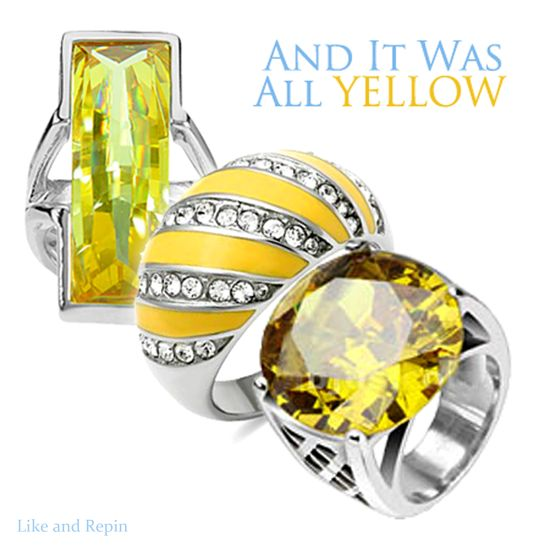 Love The Yellow Rings! #FallCollection2013 #BuyBlueSteel
