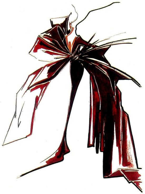 fashion illustration - balmain.