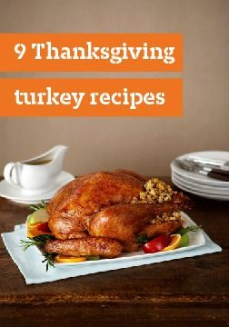 9 turkey recipes – Turkey is a great choice for any time of year, but it takes center stage on Thanksgiving.