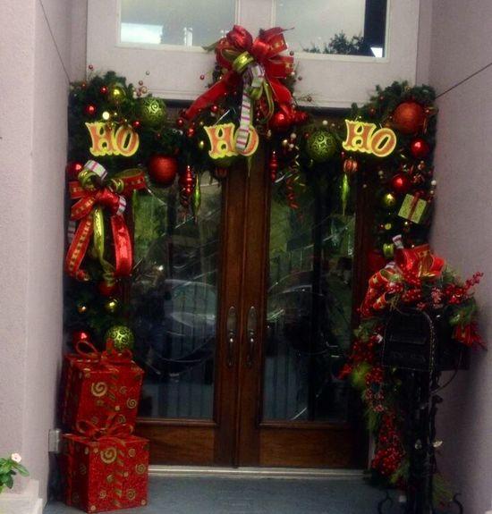 #Christmas Entrance , amazing work. Designed by Lupita Rodriguez