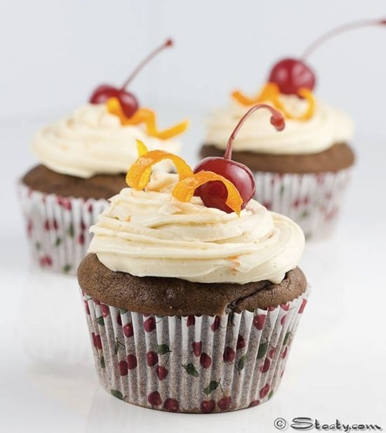 Gluten-Free Chocolate Old-Fashioned Cupcakes