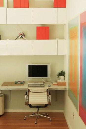 a workspace with storage