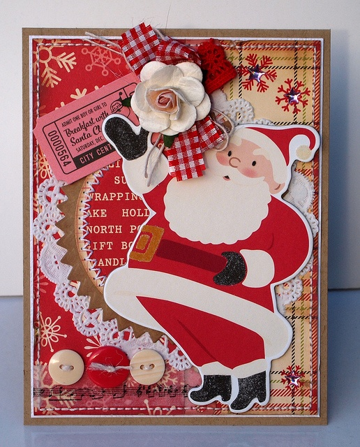 Father Christmas Card