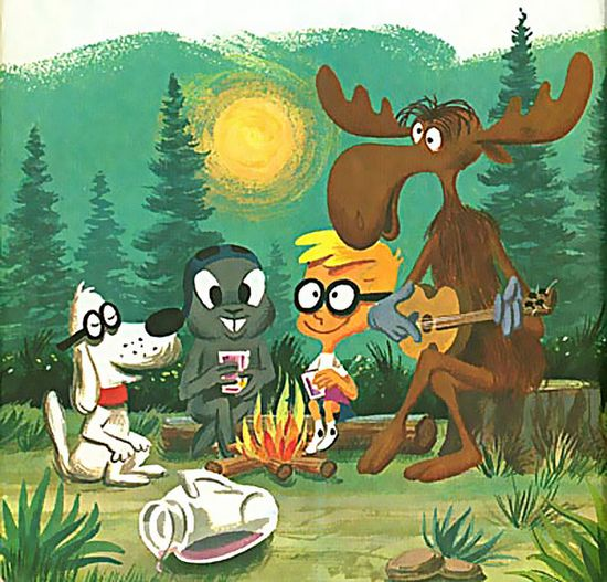 Rocky, Bullwinkle and Friends ..cartoon