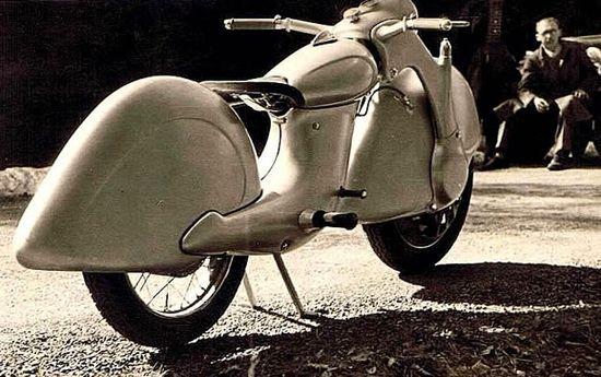 German Motorbike circa  1945