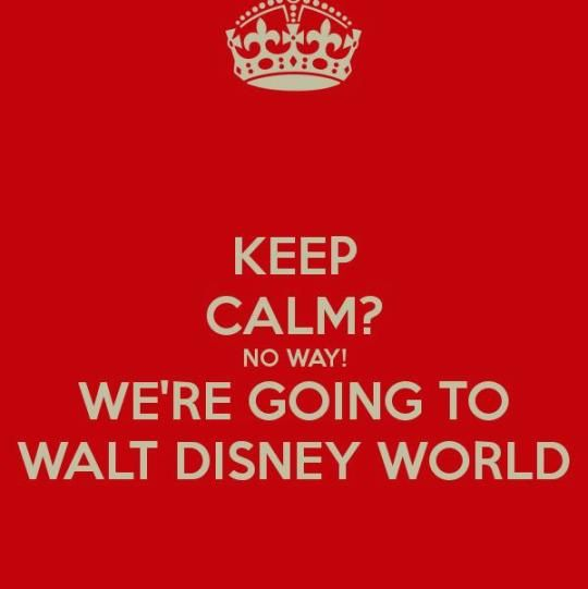 Walt Disney World or bust