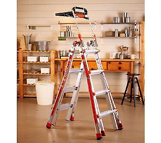 Help him reach new do-it-yourself heights with the help of this 24-in-1 ladder system! #QVCgifts