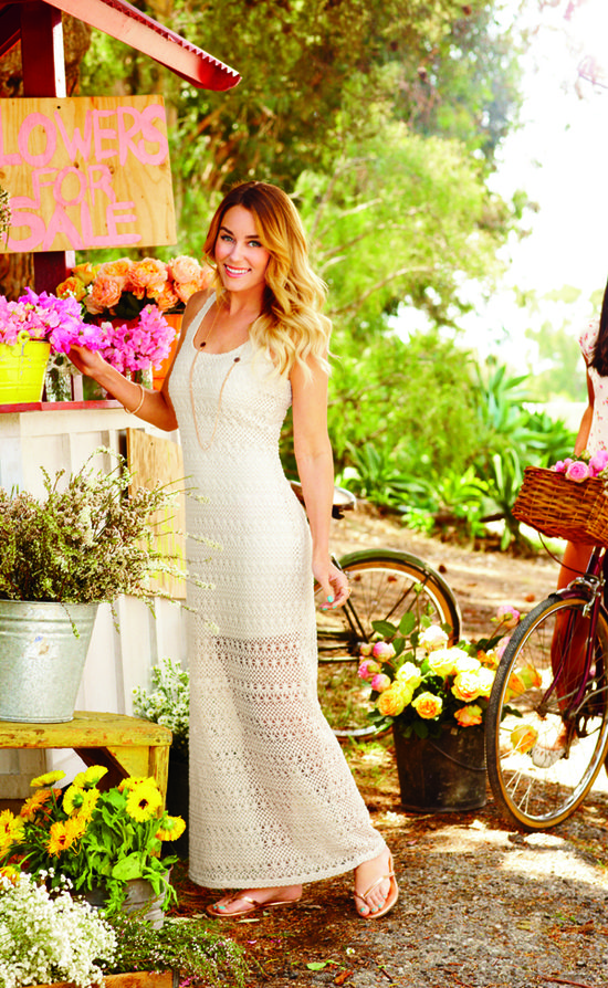love this lace dress from the LC Lauren Conrad Kohl's collection
