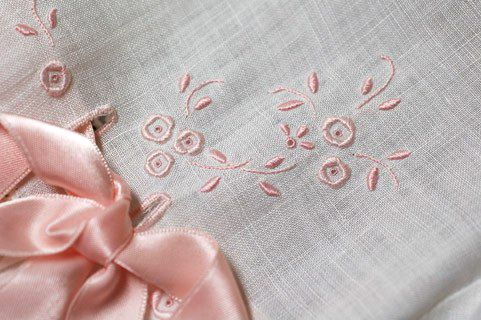 vintage embroidery detail