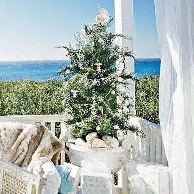 Mini Coastal Christmas Tree