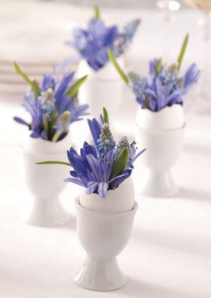 Eggshell Flower Arrangements - Spring & Easter