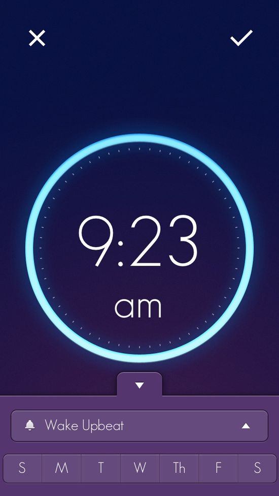 #App #Interface #UI #UX #design Wake --> itunes.apple.com/...