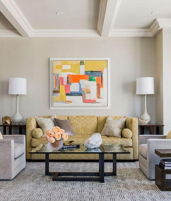 Interior design firm Terrat Elms Interior Design featured Glazed Abaca 4846 Brushed Silver.