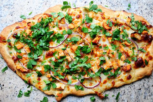 by Ree Drummond / The Pioneer Woman, via Flickr  Awesome BBQ chicken pizza recipe.