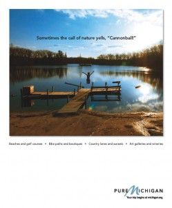 Cannonball - advertising - tourism - resorts