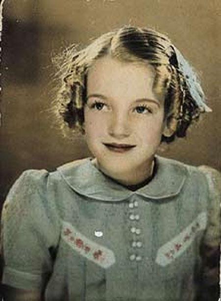 Marilyn Monroe 8 yrs. old