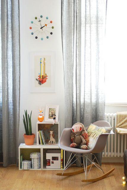 nursery, neutral, grey and white