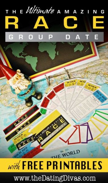 The ULTIMATE Amazing Race Group Date Night - - I WILL do this!