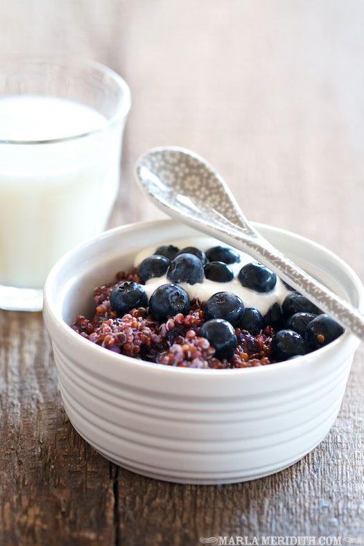Blueberry Quinoa
