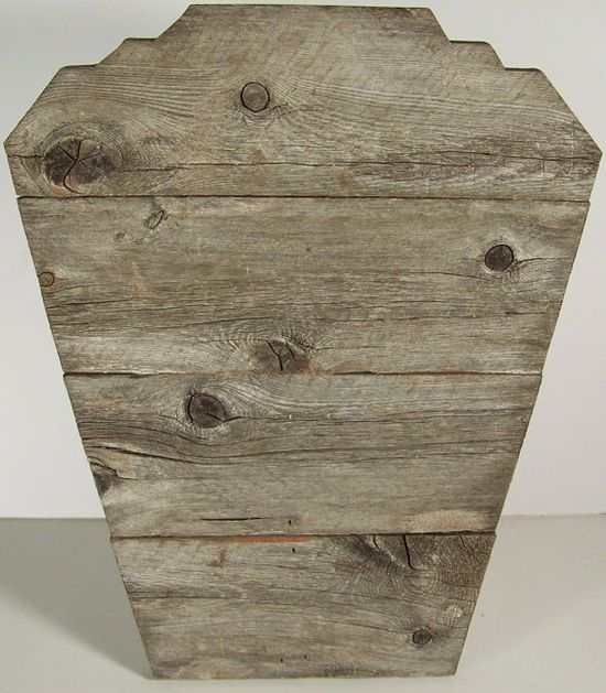 Jewelry Display Easel Rustic Aged Wood Natural by DITR on Etsy,