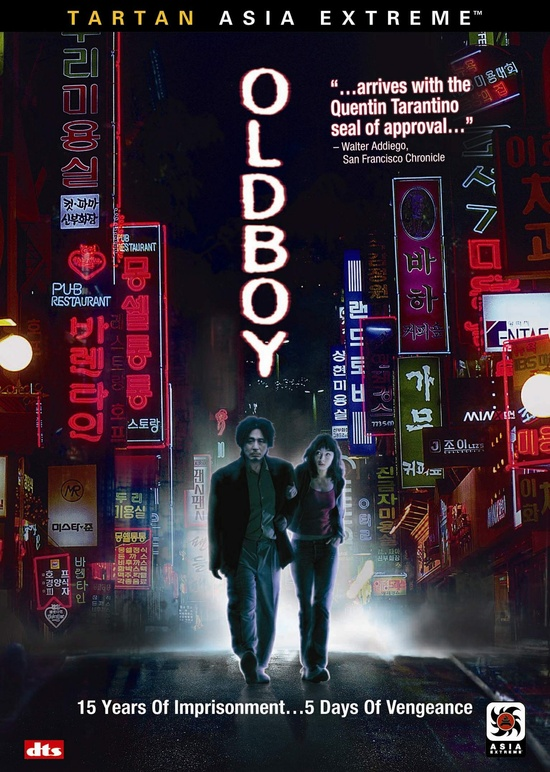 Film: Oldboy  Language: South Korean  Year: 2003  Director: Park Chan-wook  Genre: Action  Note: One of the greatest South Korean movies ever, Oldboy has been remade into all major languages. Winner of multiple awards, this is a classic. Now considered into 'Top 10 Asian Movie ever made' list by CNN.