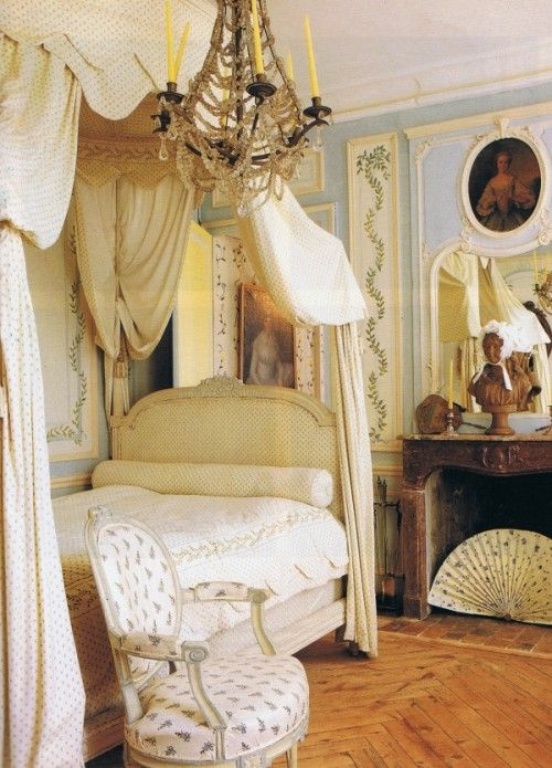 French Style Decorating From World Of-Interiors April-94 From Trouvais Blog