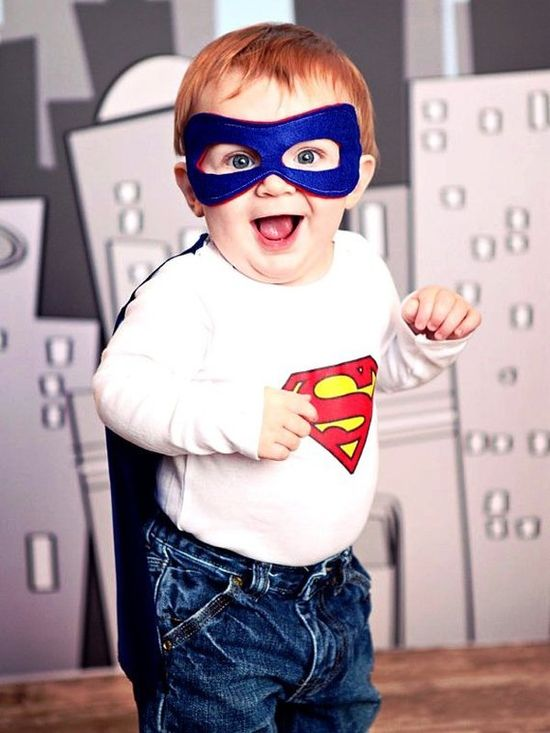 awesome [superhero baby outfit]