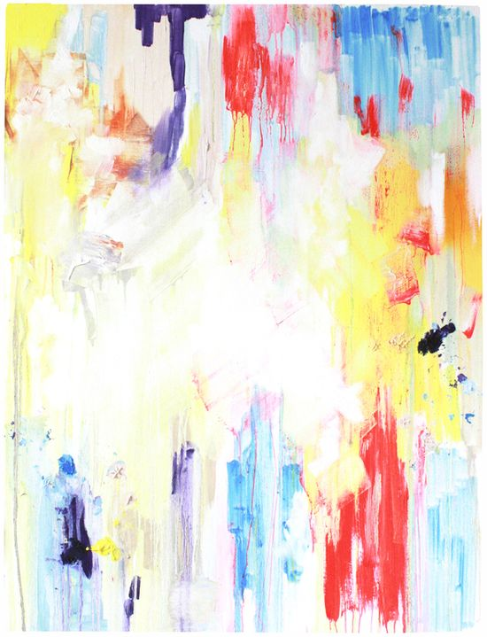 "Saatchi Online Artist: Abigail Box; Oil, 2013, Painting ""White Noise"""