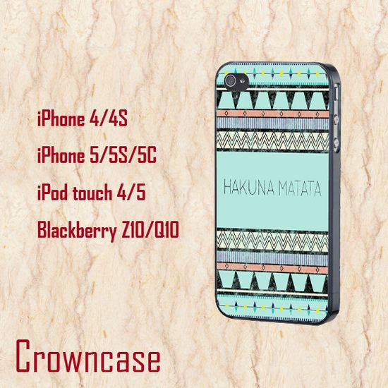 iphone 5c case,iphone 5c cover,cute iphone 5c case,iphone 5s case,iphone 5s cases,iphone 5s cover,iphone 5 case--hakuna matata,in plastic. by CrownCase88 on Etsy, $14.99