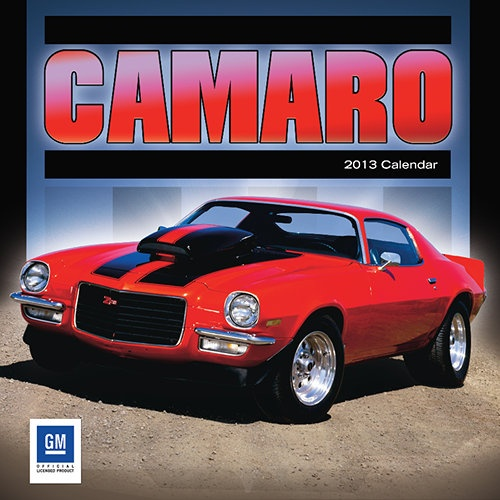 Camaro Wall Calendar: In many ways an answer to Ford's popular and affordable Mustang, the Chevrolet Camaro arrived on the scene in 1967. Ever since its inception, this muscular sports car masterpiece has remained an icon of uncompromising performance.  $11.99  calendars.com/...