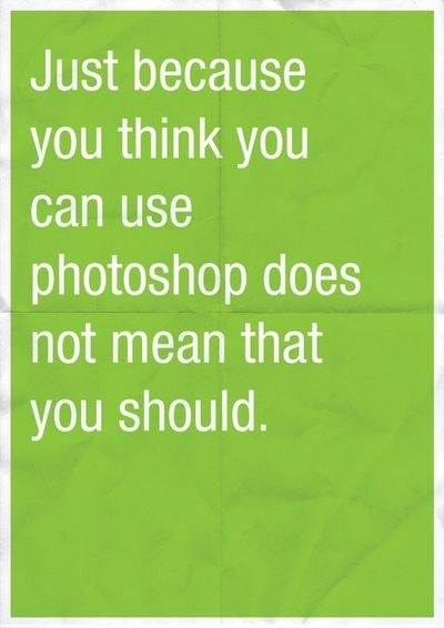 Oh yeah, for all graphic designers everywhere. Yes!
