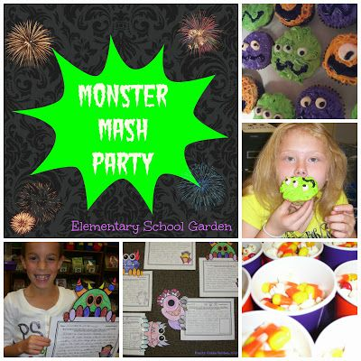 Monster Mash Classroom Party Ideas