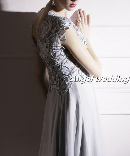 Custom Wedding Dress Vintage Lace Wedding by AngelWeddingDress, $168.00