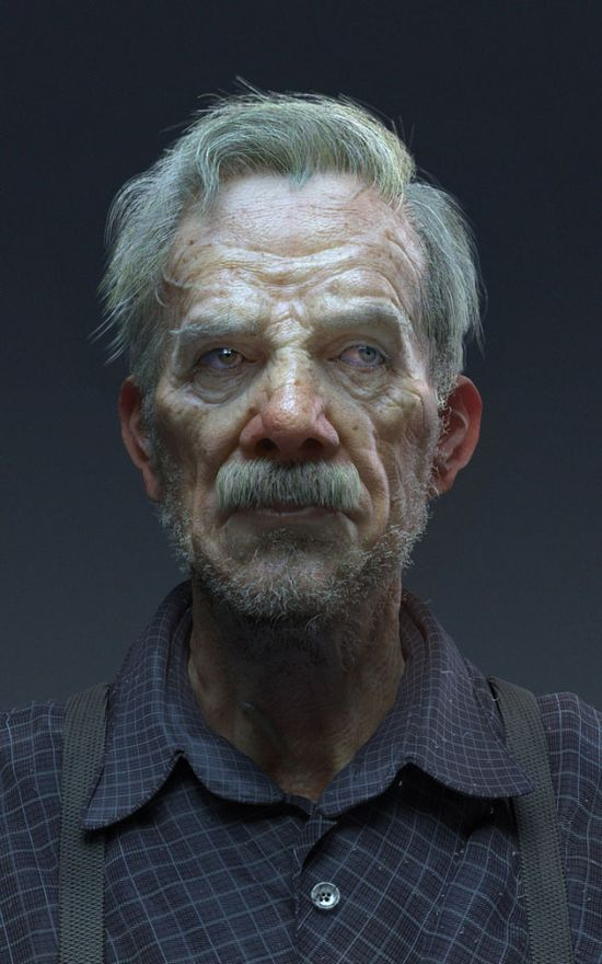 25 Stunning Photo Realistic 3D Character designs